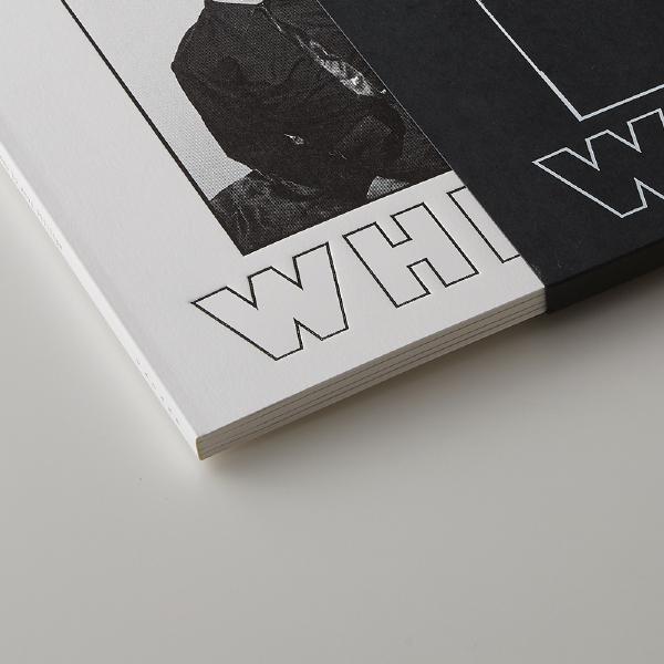 James Chance「BLACK&WHITE」(箔押し/空押し/特殊製本)