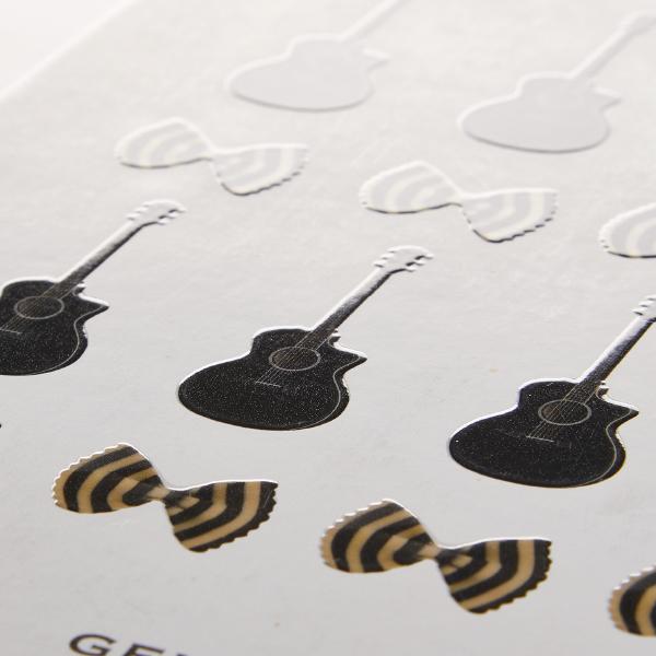 gelato pique 2014AW 展示 DM(合紙 /シルク印刷)