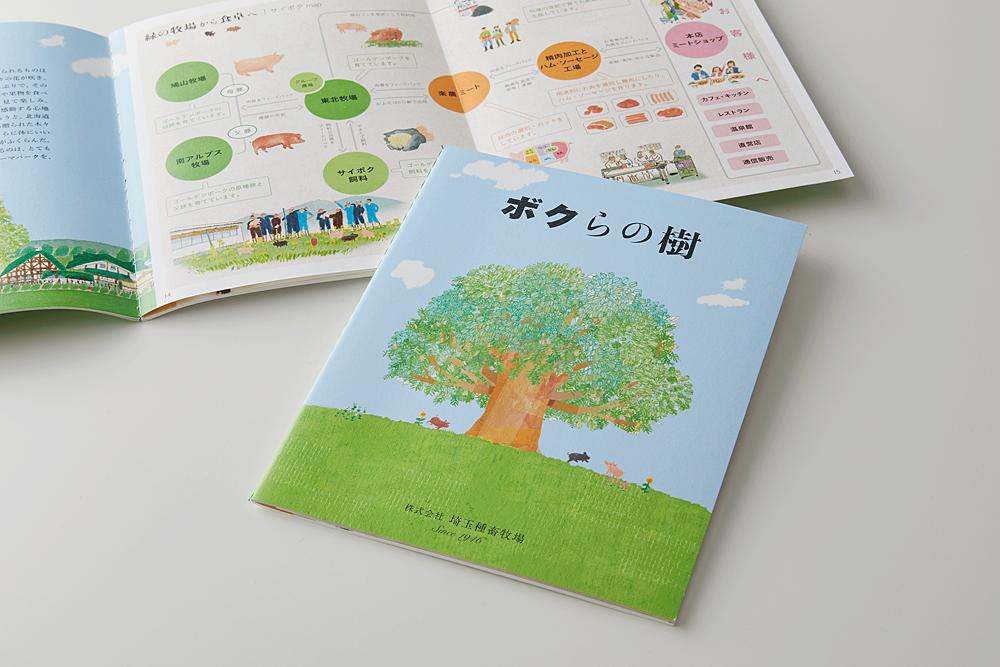 株式会社埼玉種畜牧場 コンセプトブック(特殊製本)