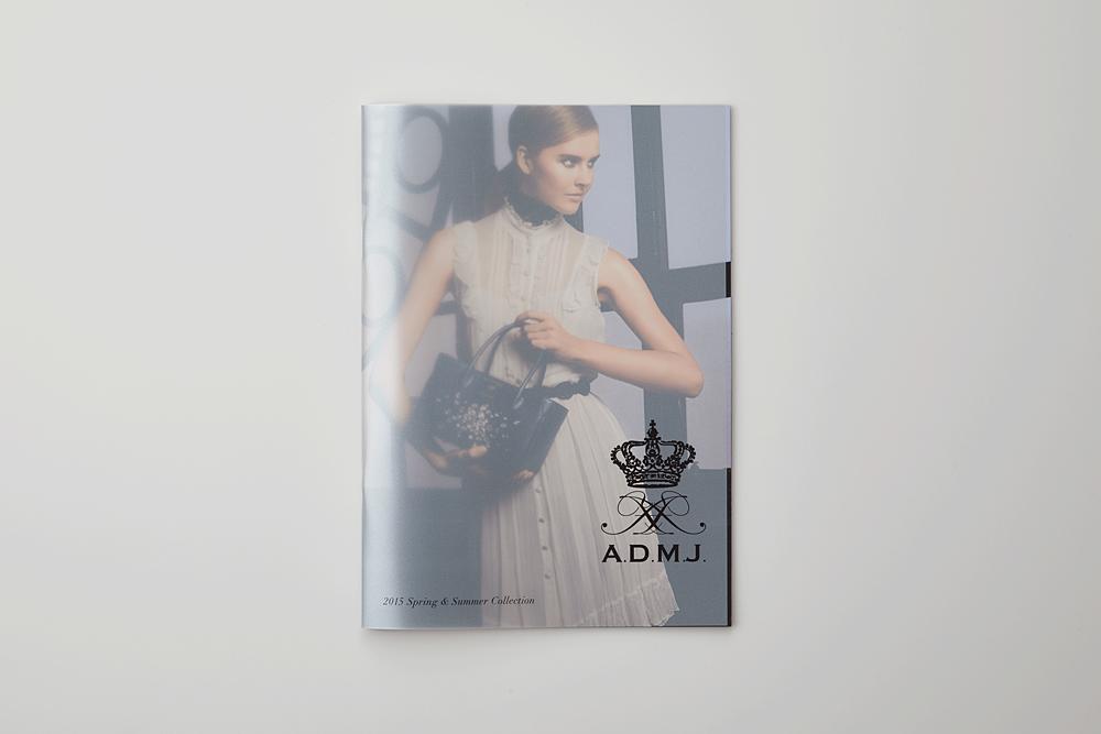 A.D.M.J 2015SS カタログ(その他)