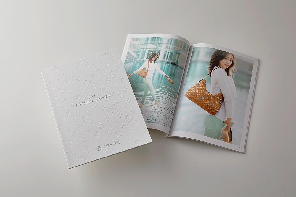 russet 2014SS カタログ(エンボス/箔押し)
