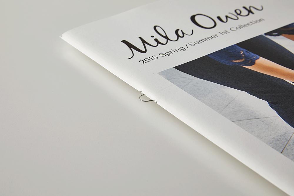 Mila Owen 2015 SS 1st カタログ(特殊製本)