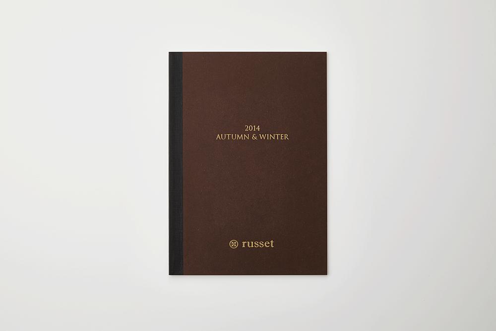 russet 2014AW カタログ(特殊製本)