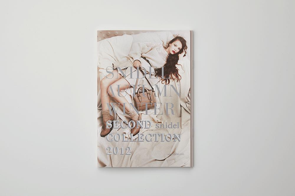 snidel 2012AW 2nd カタログ(特殊製本)