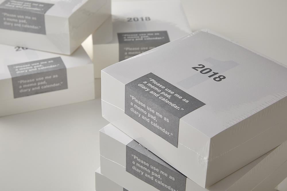 RING LINK FACTORY ORIGINAL CALENDAR 2018(特殊製本/特殊印刷)